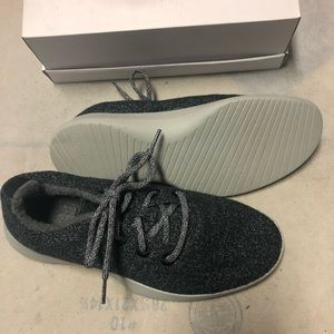 Allbirds Men's Wool Runners Size 9 charcoal